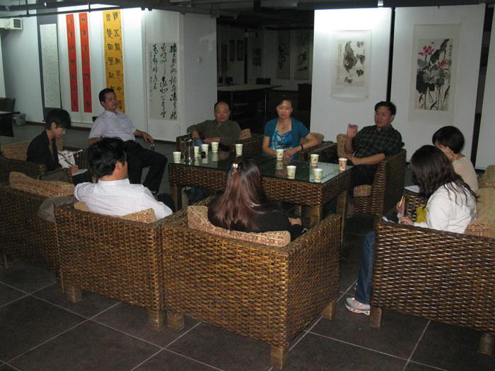 2011.09.07栏目部分骨干书法艺术培训