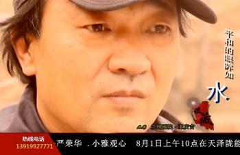 甘肃电视台《收藏》兰州画院王庆吉形象片